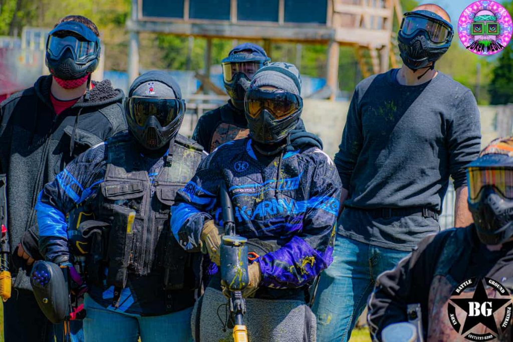 Indianapolis paintball players